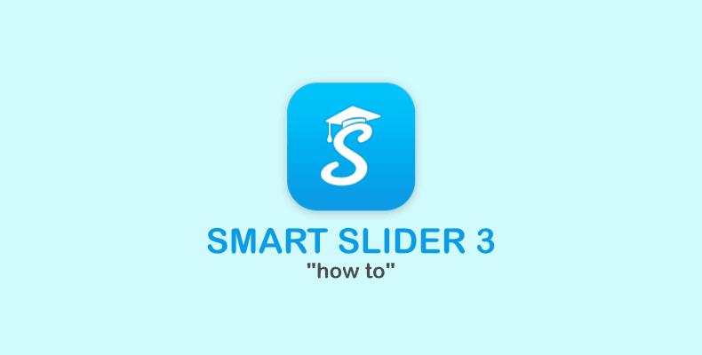 articolo smartslider modifica slide